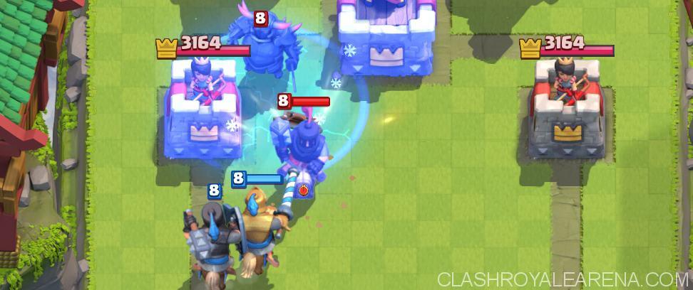 clash royale taktik arena 2